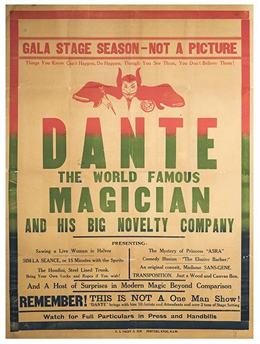 Dante (Jack ANGUS). Dante the World Famous Magician and
