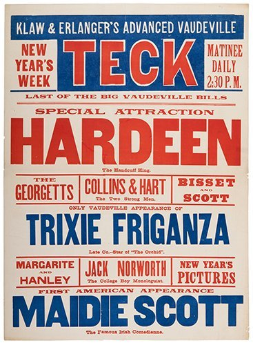Hardeen (Theodore Weiss). Hardeen.