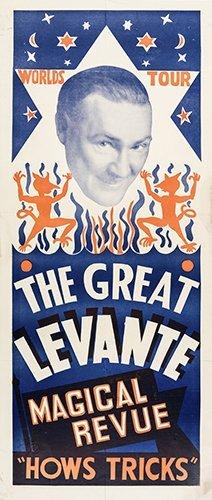 LEVANTE, LES (LESLIE GEORGE COLE). The Great Levante