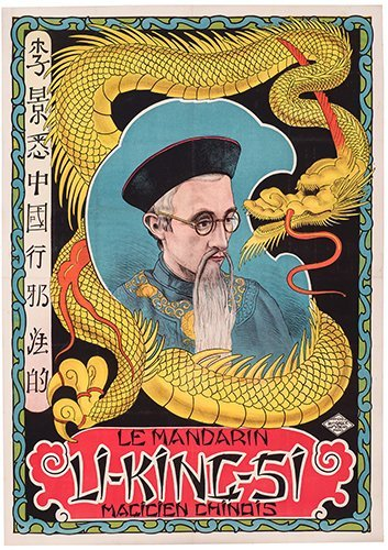 LI KING SI. (GEORGES CASSEL). Le Mandarin Li-King-Si.