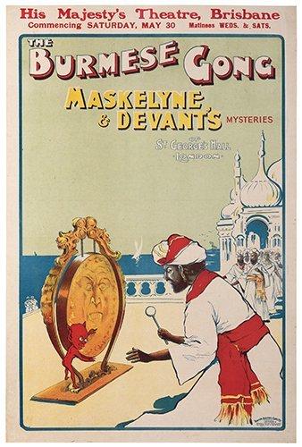[MASKELYNE & DEVANT] The Burmese Gong. Maskelyne &