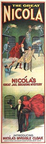 NICOLA, WILL. (WILLIAM MOZART NICOL). Nicola. Great