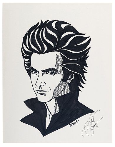 COPPERFIELD, DAVID. David Copperfield Portrait.