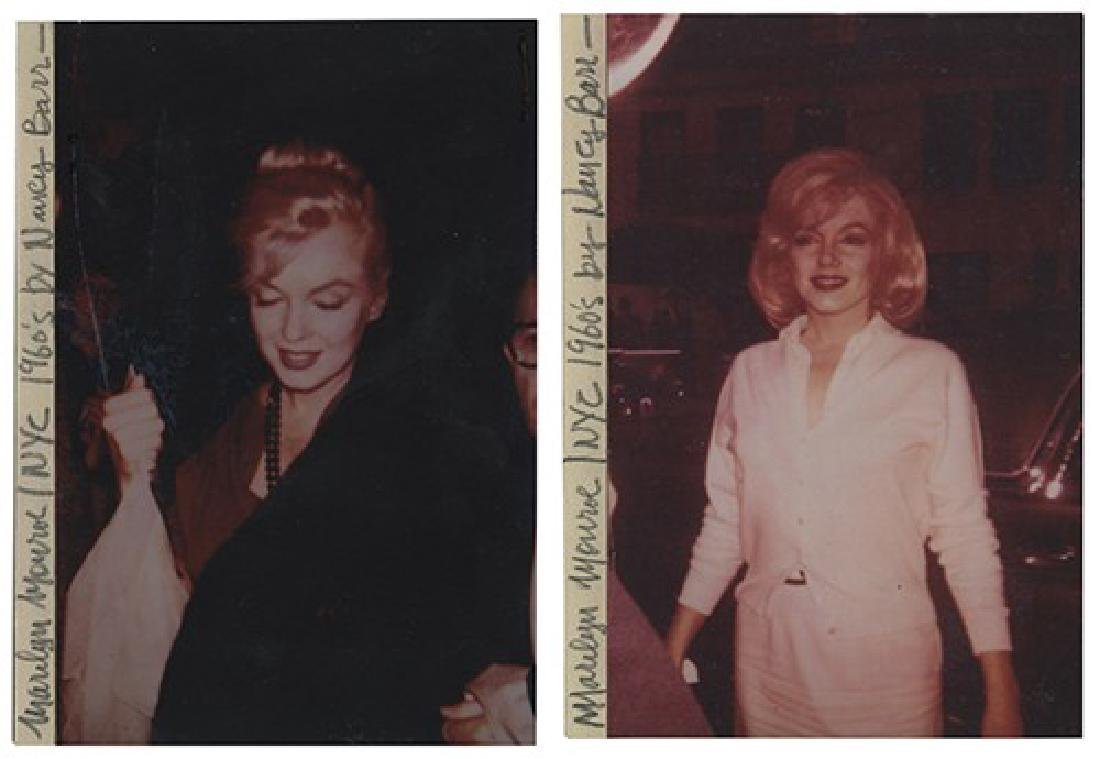 Three Marilyn Monroe Candid Photographs from the John