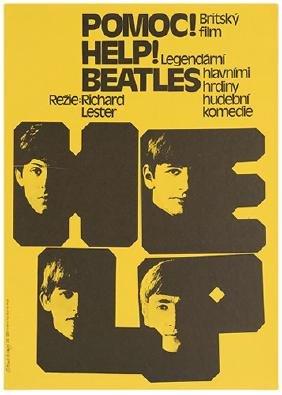 [Beatles] Two Czech Film Festival Posters
