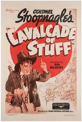 "Colonel Stoopnagle's ""Cavalcade of Stuff."""