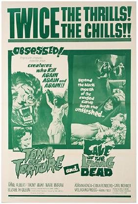 Group of Various One-Sheet 1940s – 60s Movie Posters.