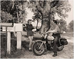Collection of Harley-Davidson Motorcycle Photographs,
