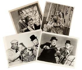 Over 350 Laurel and Hardy Movie Stills.