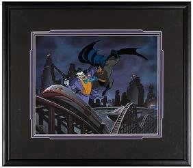 Batman: The Animated Series Limited Edition Cel.