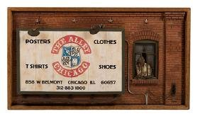 The Alley Chicago Store Diorama.