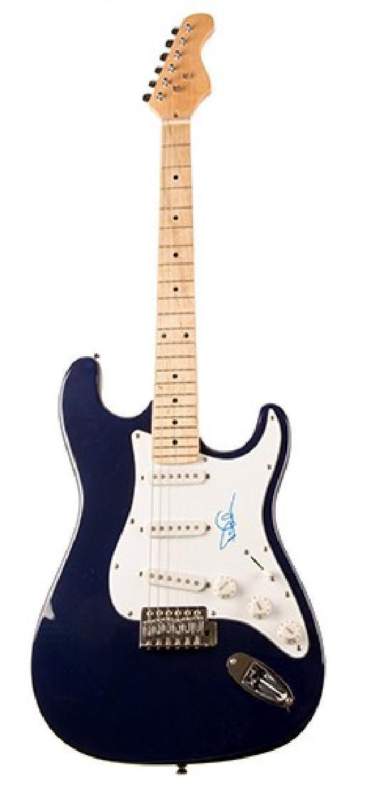 David Gilmour Signed Guitar.