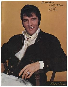 Elvis Presley Astrodome Photo Album Inscribed and