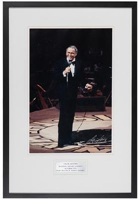 Frank Sinatra Stage Portrait Photograph by George