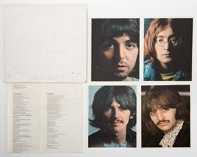The Beatles White Album (Numbered Copy) and Three Other