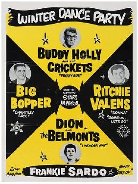 Buddy Holly & The Crickets. Winter Dance Party.