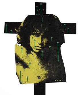 Jim Morrison on the Cross.