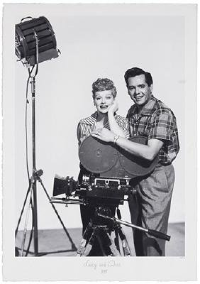 Lucille Ball and Desi Arnaz 'Lucy and Desi' Portrait