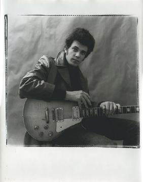Michael Bloomfield Portrait Photograph.