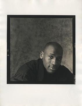 Michael Jordan Portrait Photograph.