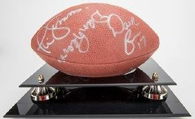 Signed Bill Parcells and New York Giants Players
