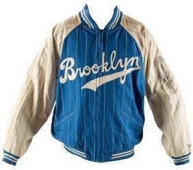MLB Brooklyn Dodgers Jackie Robinson Jersey and Jacket.