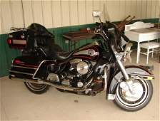314: 1989 HARLEY ELECTRA GLIDE MOTORCYCLE