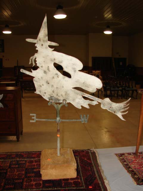 260: LATE 19TH CENTURY WITCH WEATHERVANE