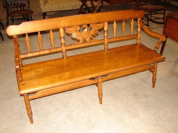 Cushman colonial maple bench 357 cushman colonial maple bench sciox Image collections