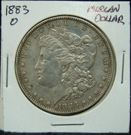 2: 1883-O U.S. MORGAN SILVER DOLLAR