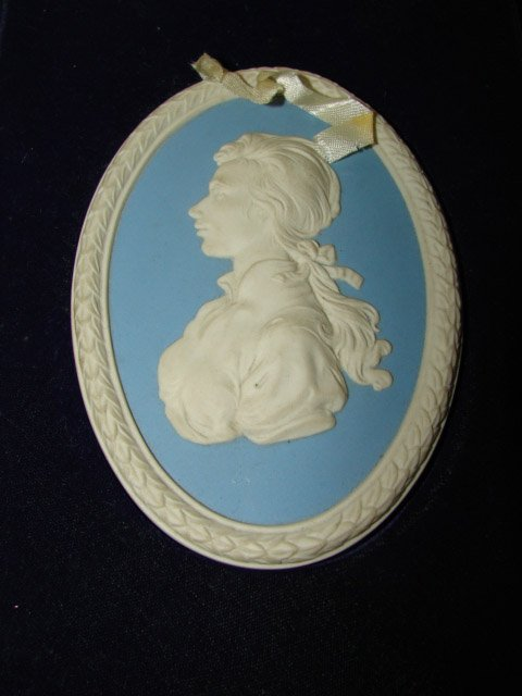 368: WEDGWOOD PLAQUE OF PRINCESS ANNE