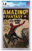 Amazing Fantasy #15 (CGC 1.8).