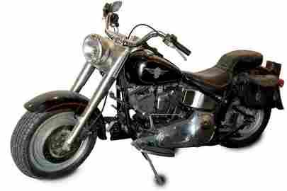 Arnold Schwarzenegger 'Terminator' 1991 Harley-Davidson