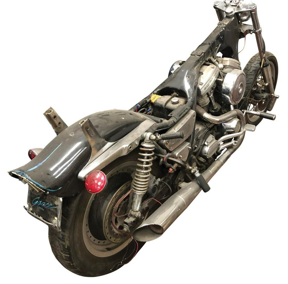 Bruce Willis 'Butch' custom screen used Harley-Davidson