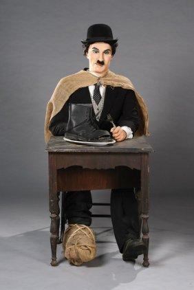 3: Charlie Chaplin wax figure from The Gold Rush