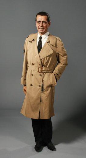 10: Humphrey Bogart as Sam Spade in The Maltese Falcon