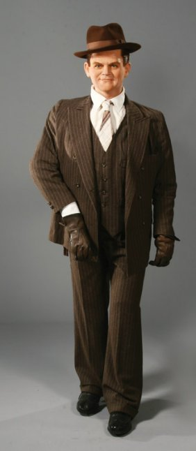 11: James Cagney wax figure from White Heat