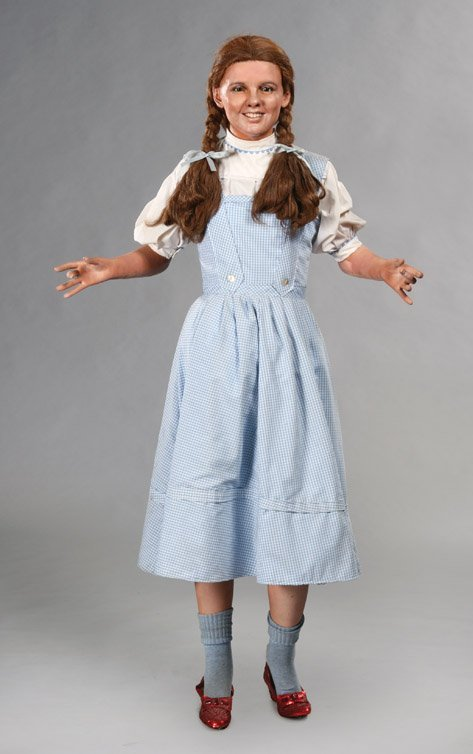 13: The Wizard of Oz wax figures display