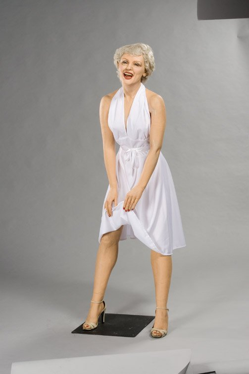 22: Marilyn Monroe wax figure from The Seven Year Itch