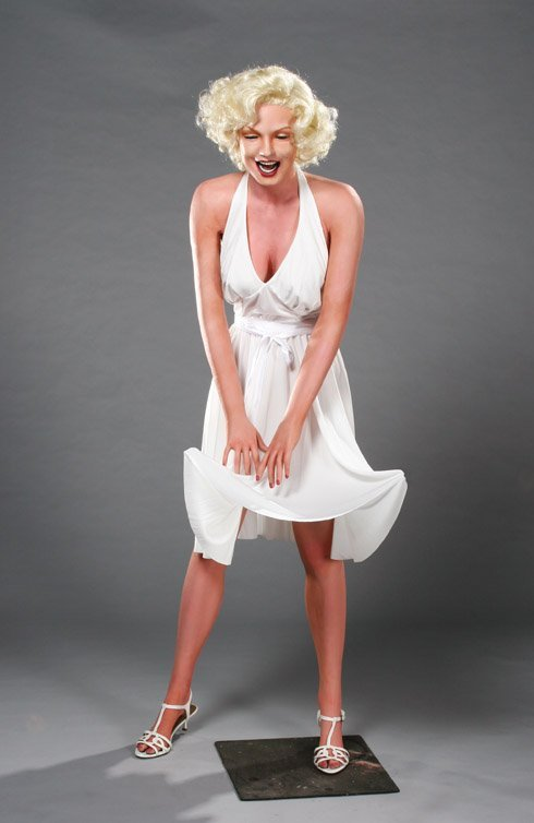 23: Marilyn Monroe wax figure from The Seven Year Itch