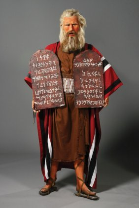 24: Charlton Heston as Moses from The Ten Commandments