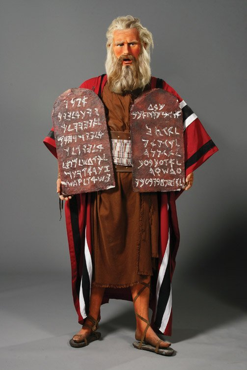 24: Charlton Heston as Moses from The Ten Commandments
