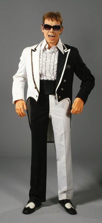 44: Elton John wax figure