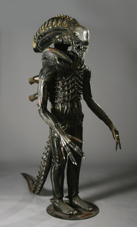 63: The Alien wax figure from Aliens