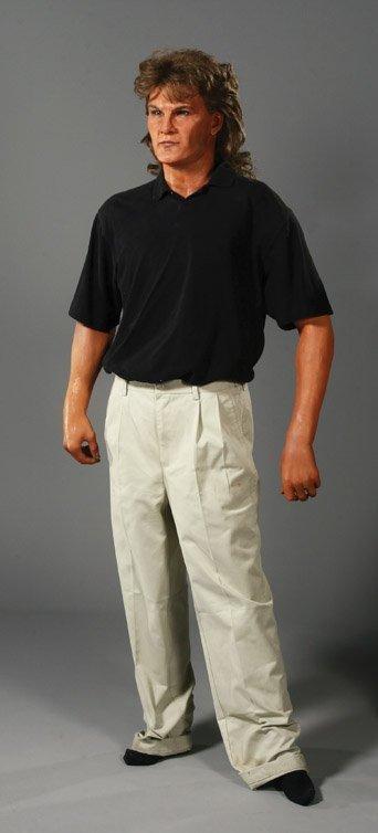 88: Patrick Swayze wax figure as Dalton from Road House
