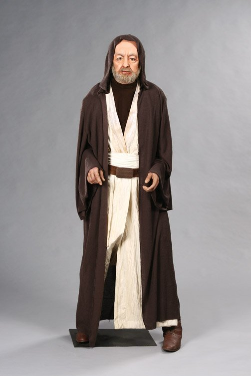 "117: Alec Guinness as ""Obi-Wan Kenobi"" from Star Wars"