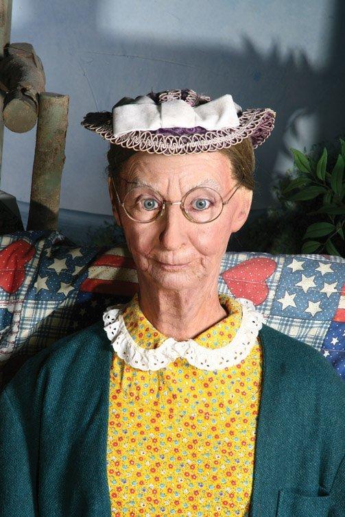 158: Irene Ryan Granny hat from The Beverly Hillbillies