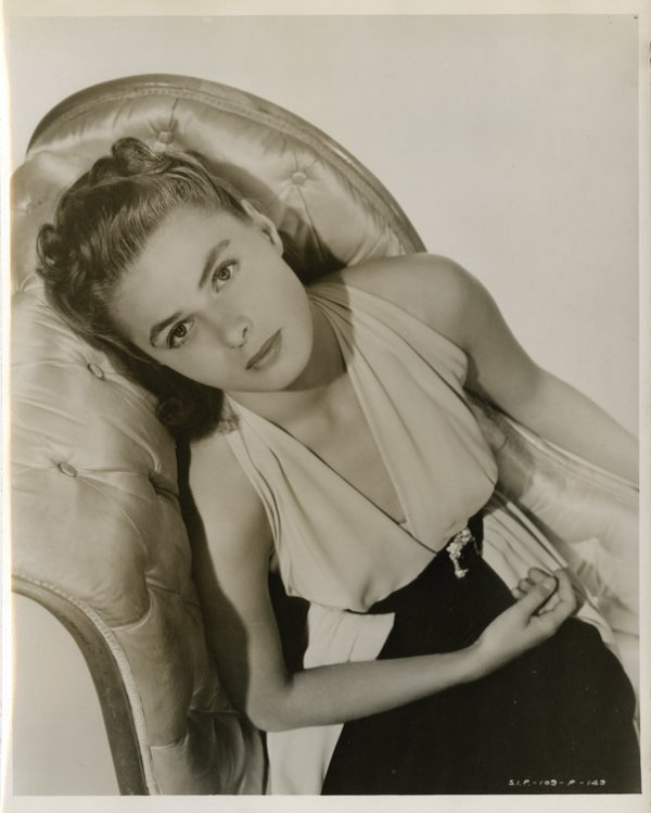 3: Ingrid Bergman portraits from Casablanca & other fil