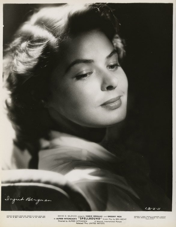 6: Ingrid Bergman photos from Spellbound by Madison Lac - 5