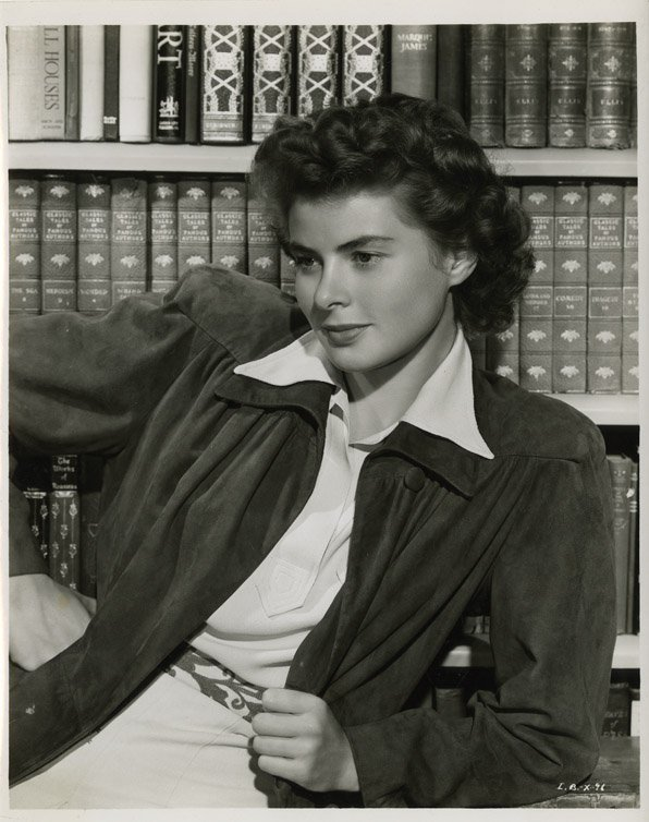 6: Ingrid Bergman photos from Spellbound by Madison Lac - 6